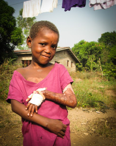 Kadiatu Sesay after surgery - 2011.